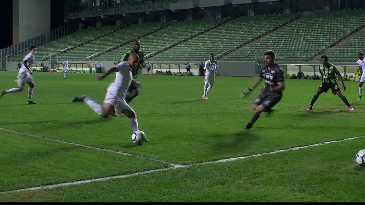 35bebd74e2 Melhores momentos  América-MG 0 x 0 Fluminense pela 19ª rodada do  Brasileirão