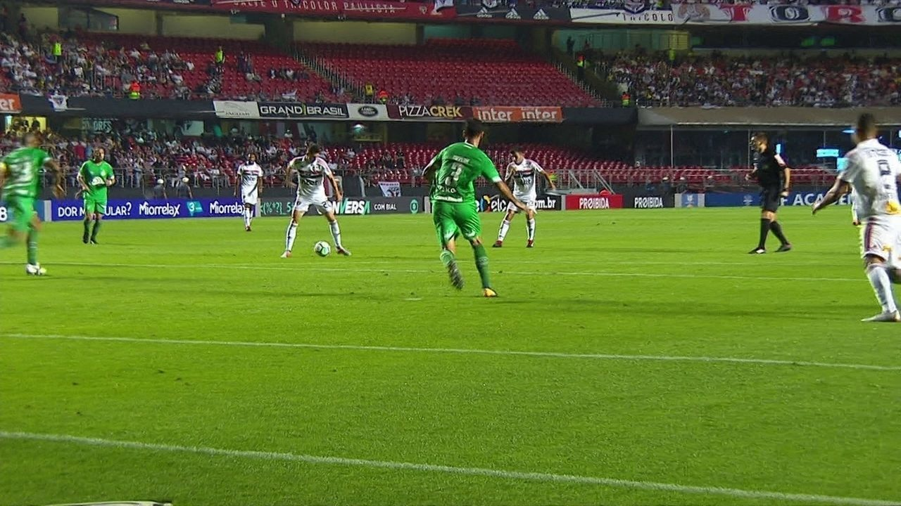 Best moments of São Paulo 2 x 0 Chapecoense for the 19th round of the Brazilian championship