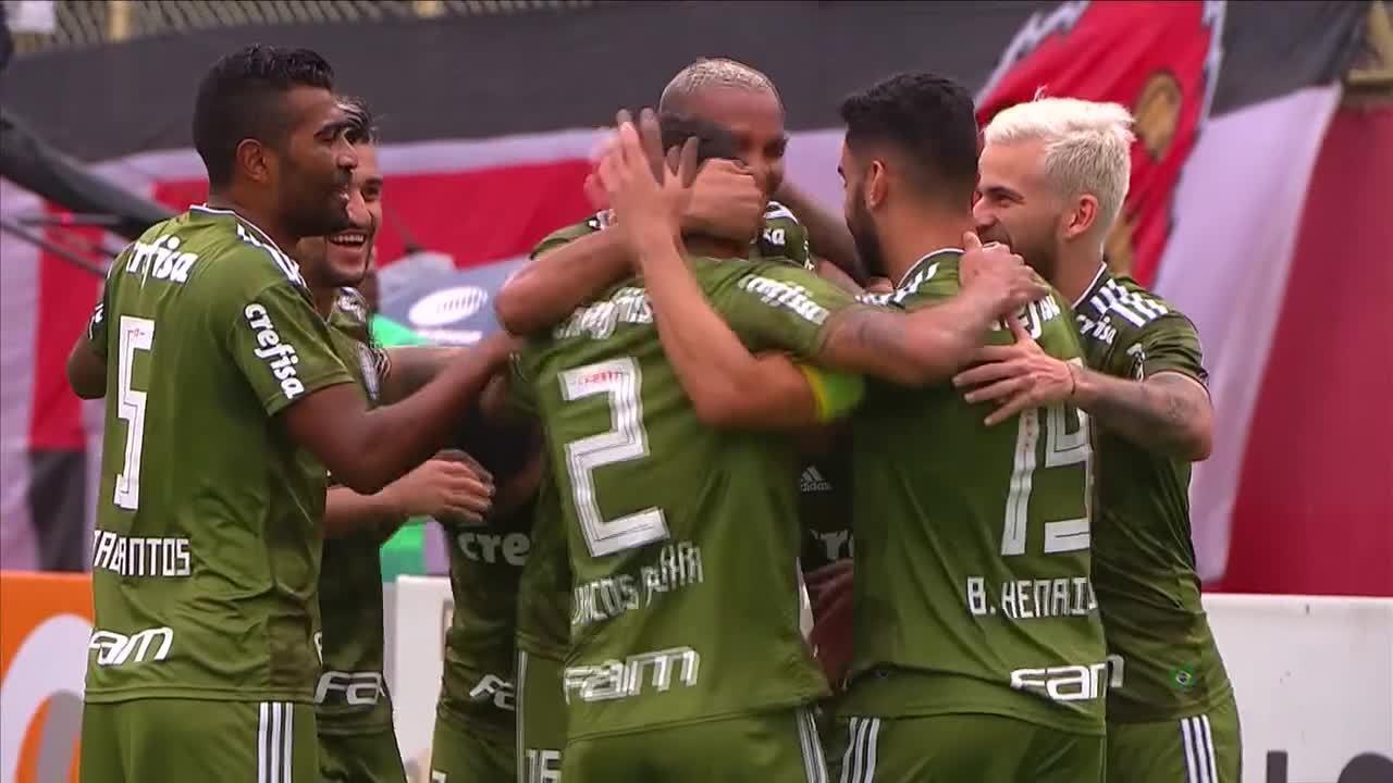 Veja os sete gols do Palmeiras sob o comando de Felipão