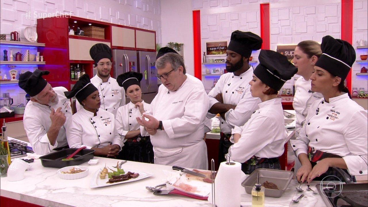 Chef Roland Villard dá workshop no 'Super Chef Celebridades 2018'