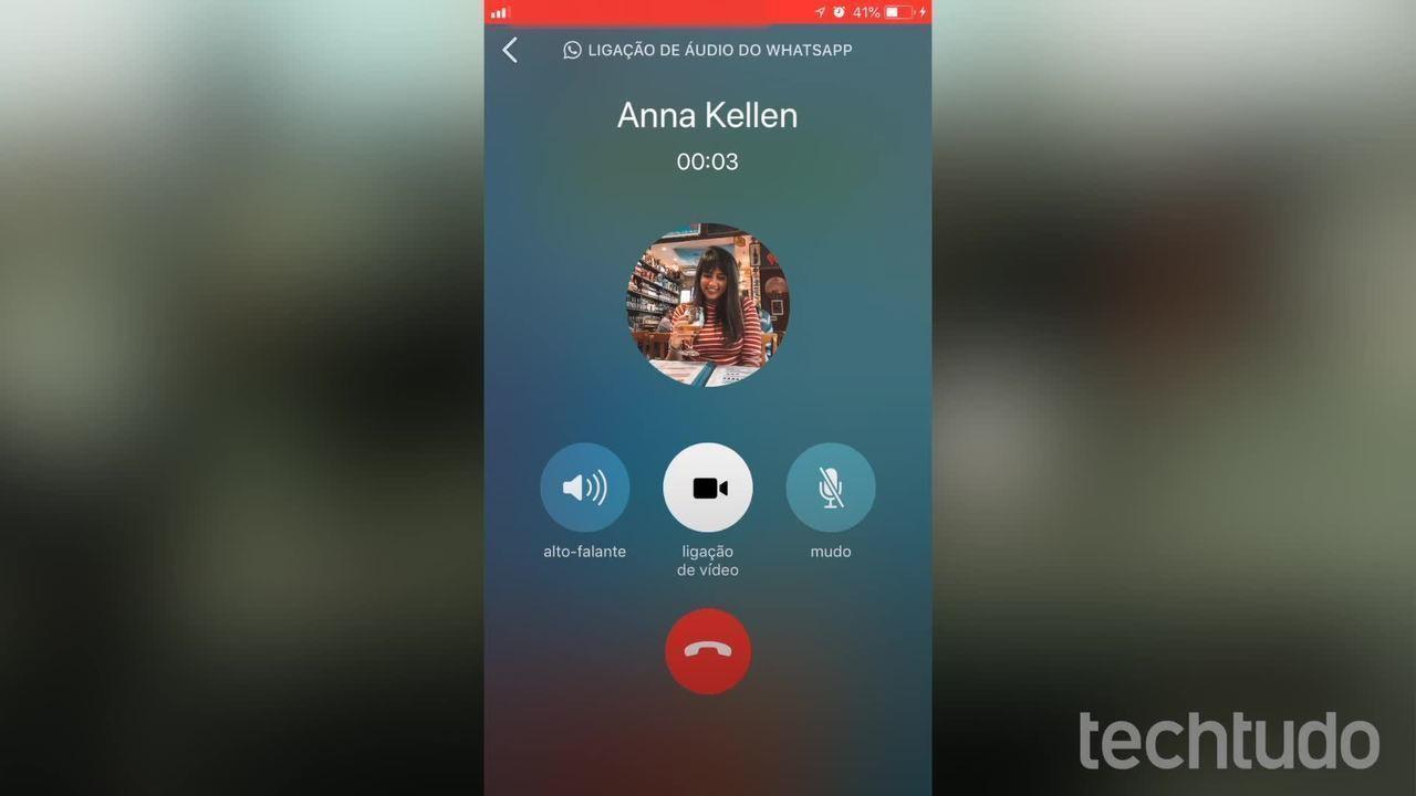 WhatsApp: como alternar entre chamada de voz e vídeo no iPhone