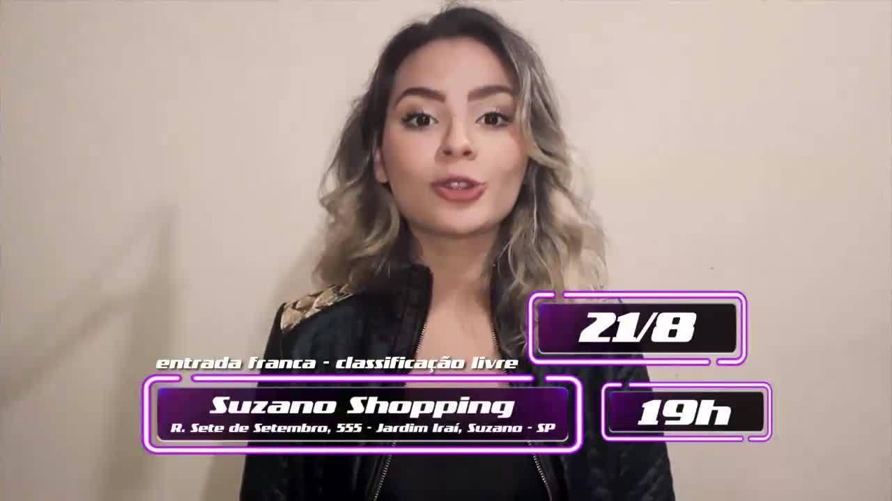 TV Diário promove pocket show com participante do 'The Voice Brasil'
