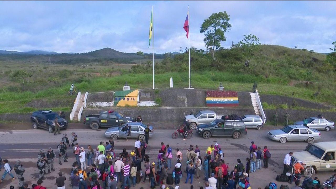 Governo de Roraima pede ao Supremo suspensão de entrada de venezuelanos