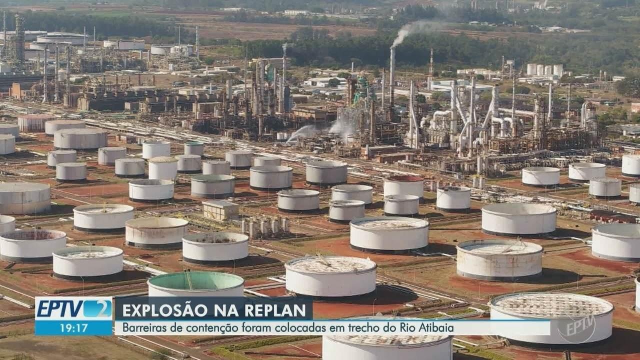Cetesb vai realizar inspeções na Replan para identificar contaminação no Rio Atibaia