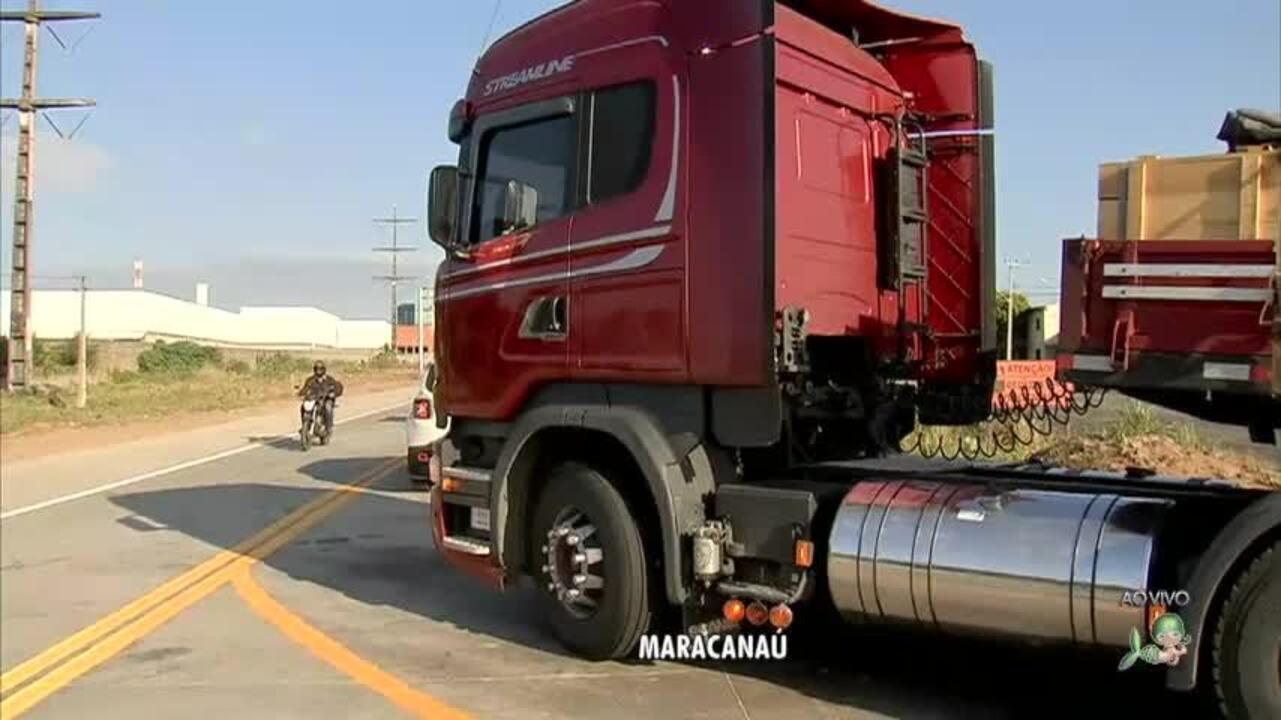Desvio gera mudanças no trânsito do quarto anel viário, em Maracanaú