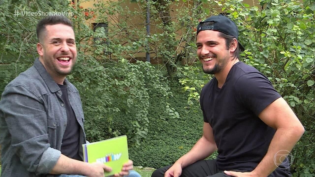 Maurício Meirelles faz entrevista sincerona com Bruno Gissoni