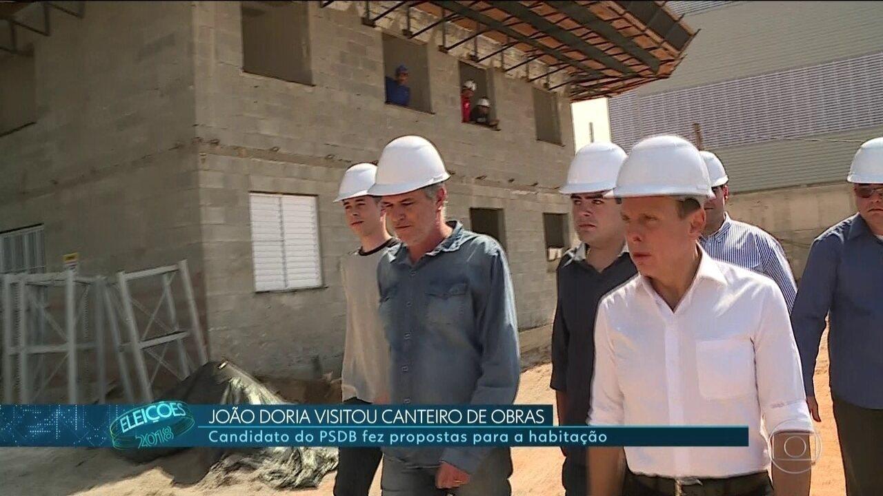 João Doria (PSDB) faz campanha na Zona sul da capital