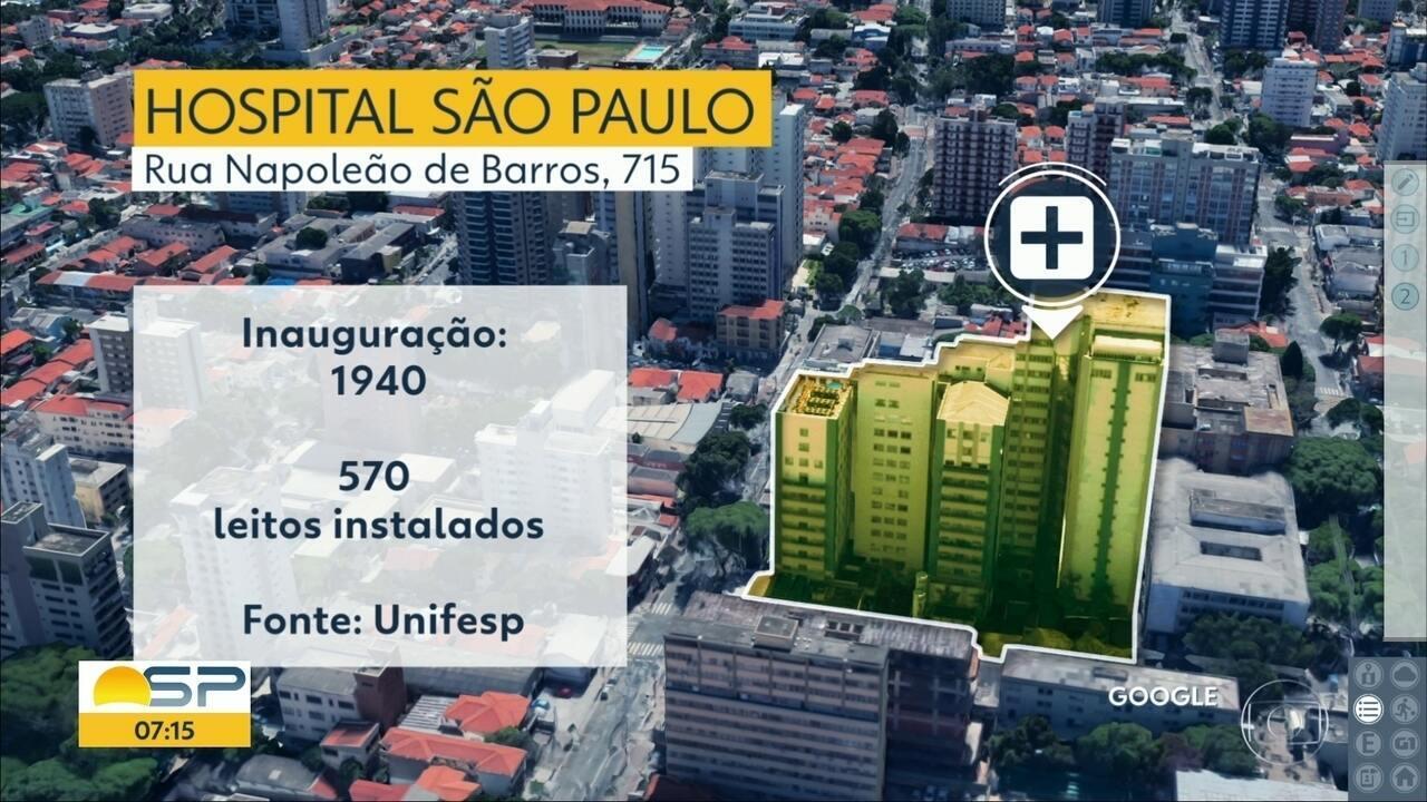 Pacientes passam dias em macas no corredor do Hospital São Paulo