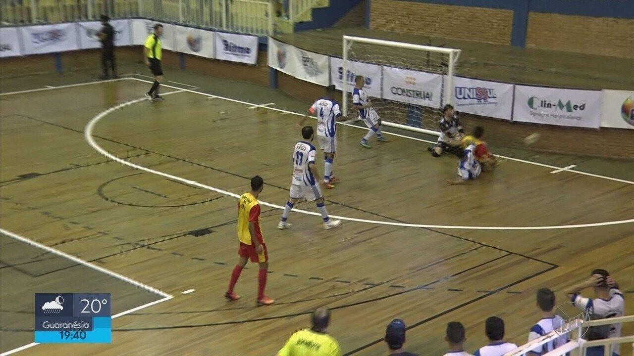 Veja como foi a final da Taça EPTV de Futsal, conquistada por Monte Santo de Minas