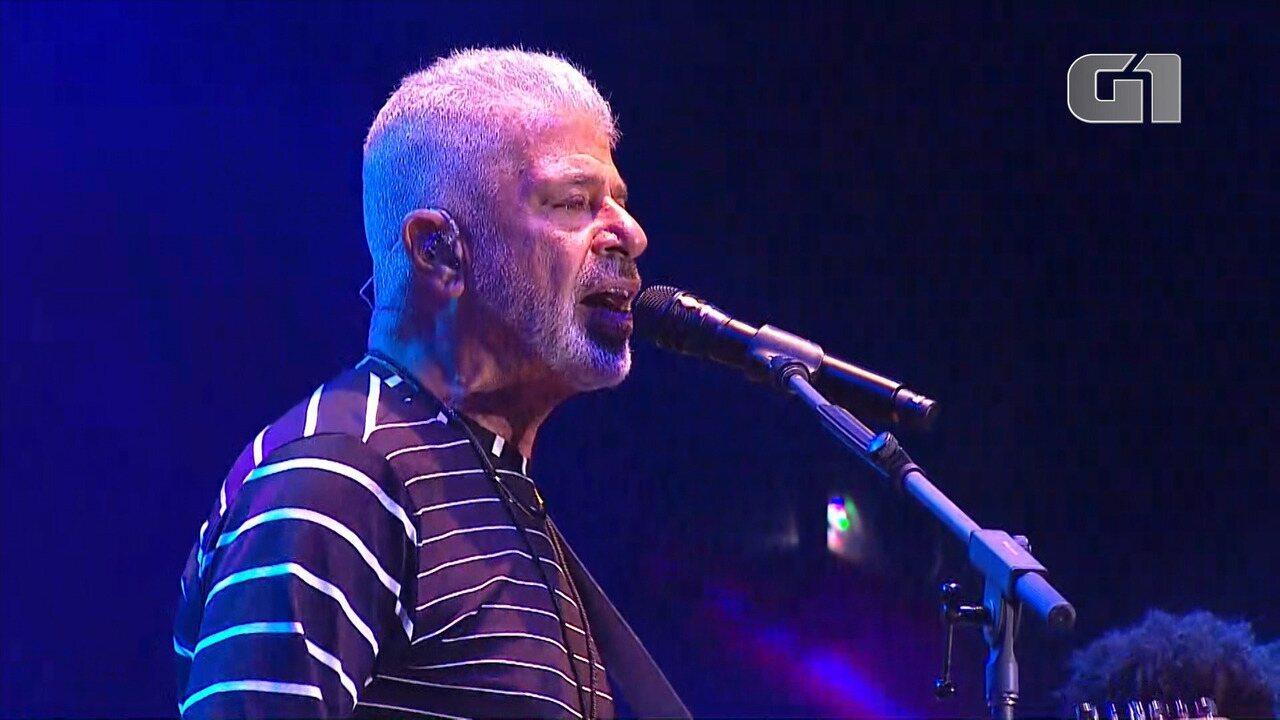 Festival de Inverno Bahia: Lulu Santos toca 'Sábado à noite'