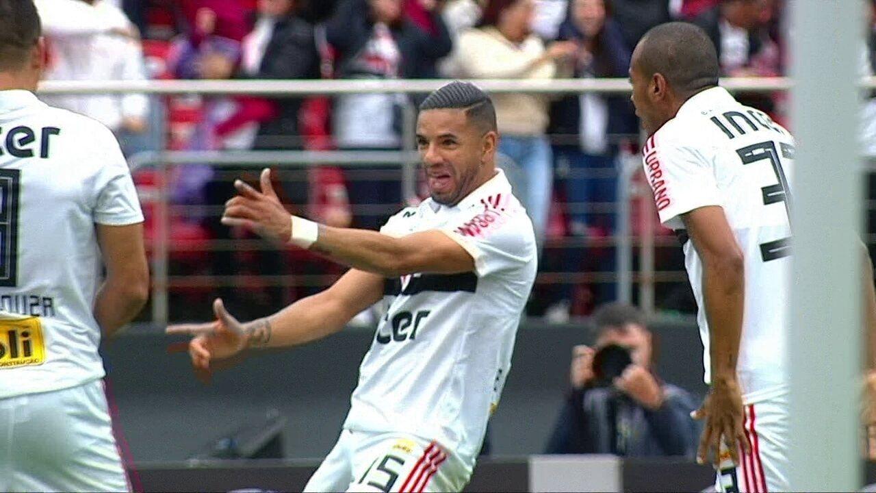 Veja como foi o gol de Bruno Peres para o São Paulo
