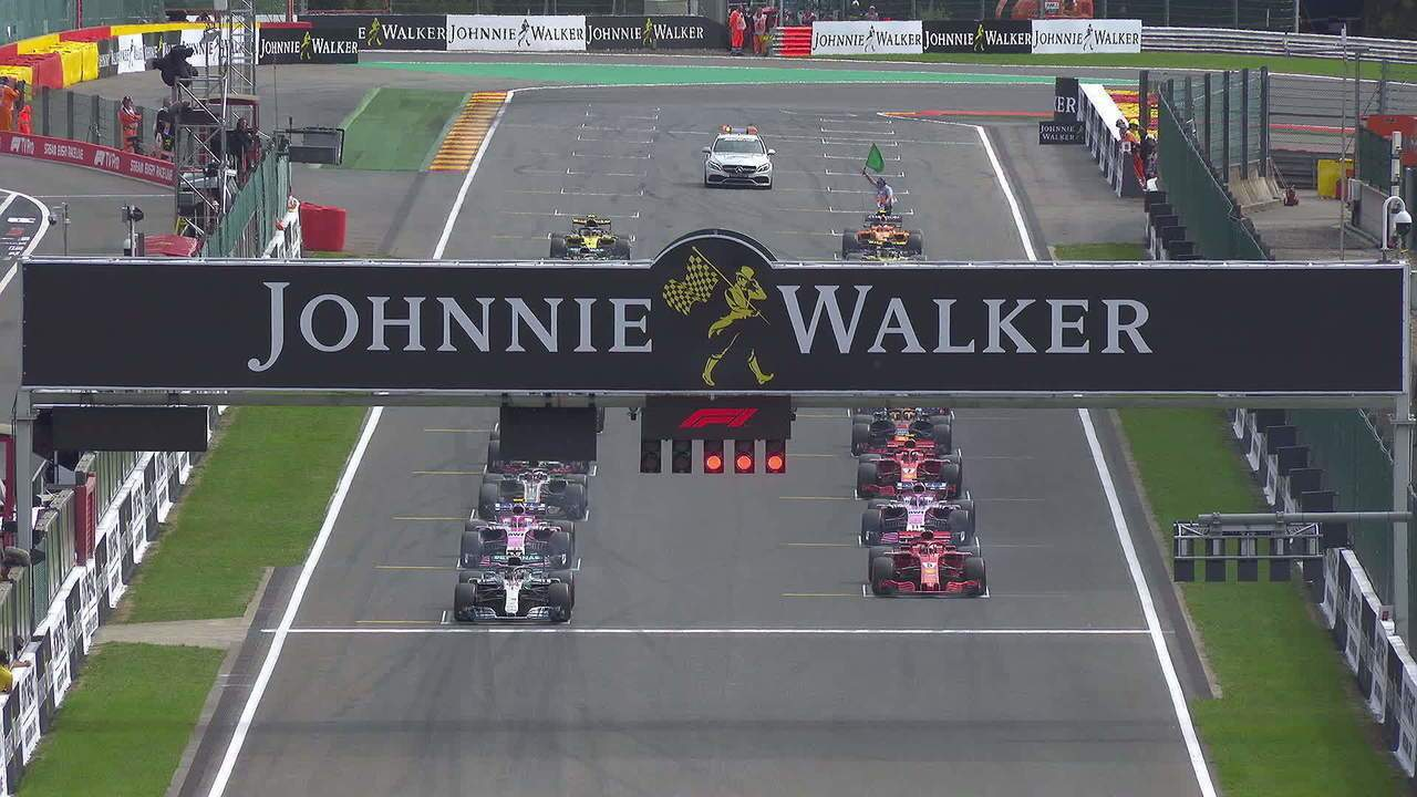 Análise da batida na primeira volta do GP da Bélgica com foco em Hulk e Alonso