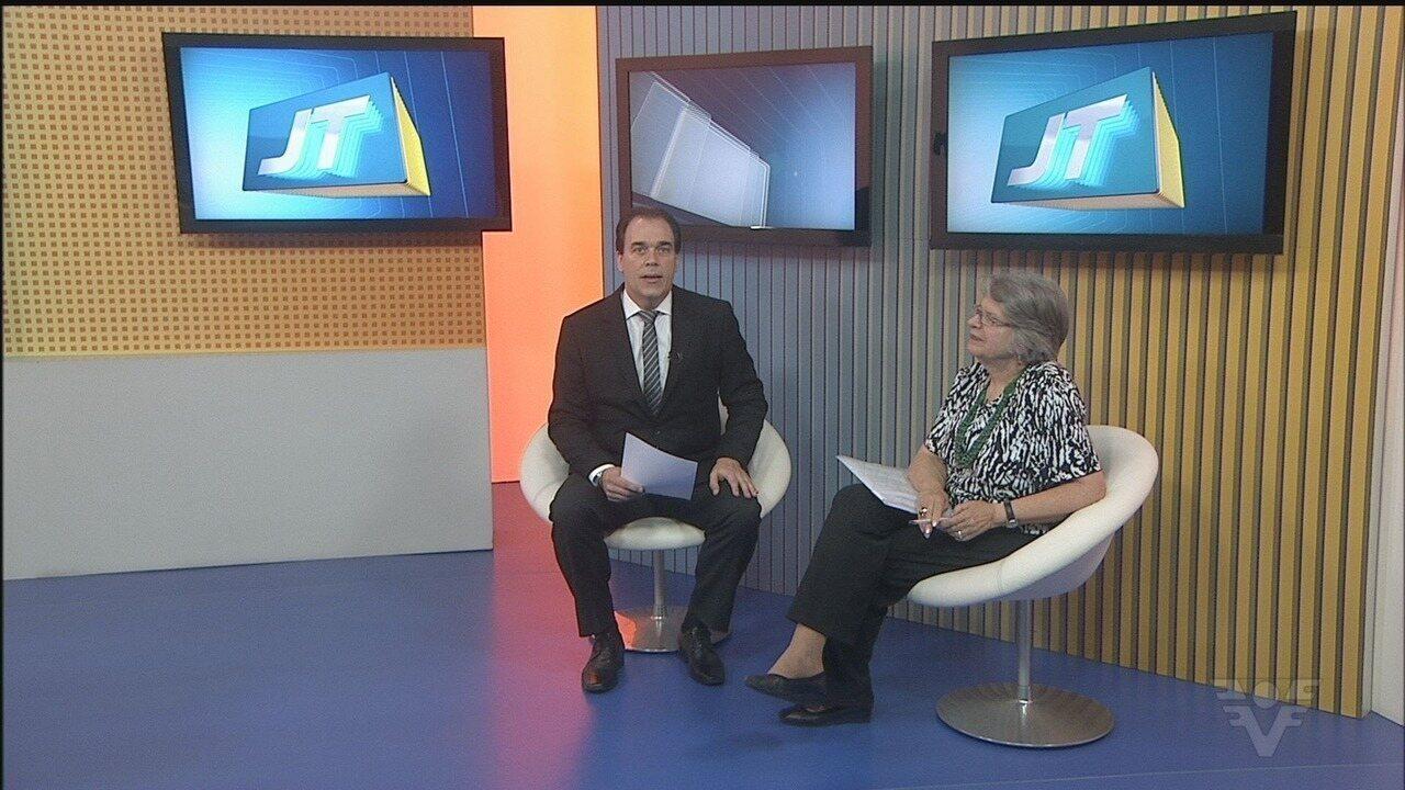Candidata Lisete Arelaro é entrevistada no Jornal da Tribuna 1ª Edição