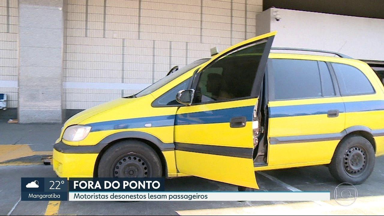 Taxistas desonestos lesam passageiros no Rio de Janeiro