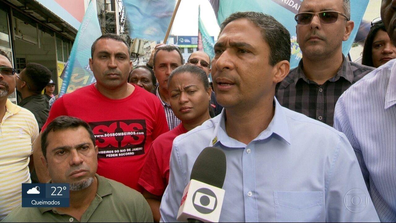 André Monteiro faz campanha na Baixada Fluminense
