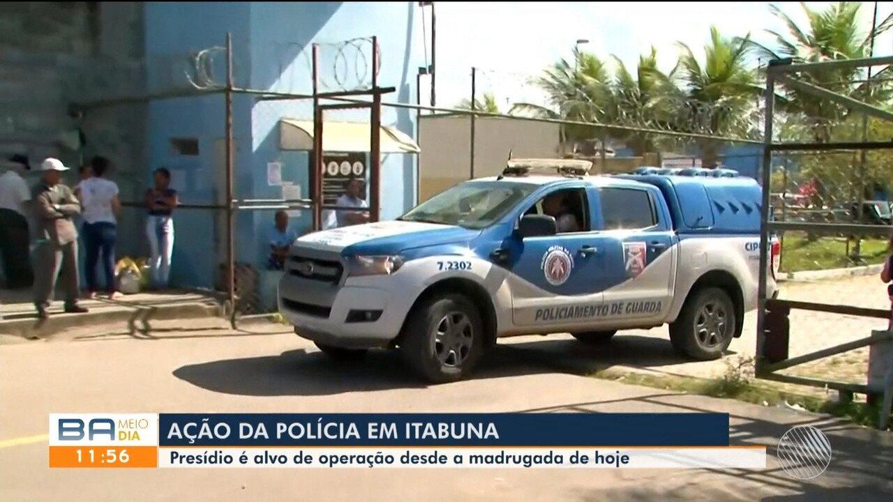 Resultado de imagem para pós operação, treze detentos são transferidos do Presídio de Itabuna