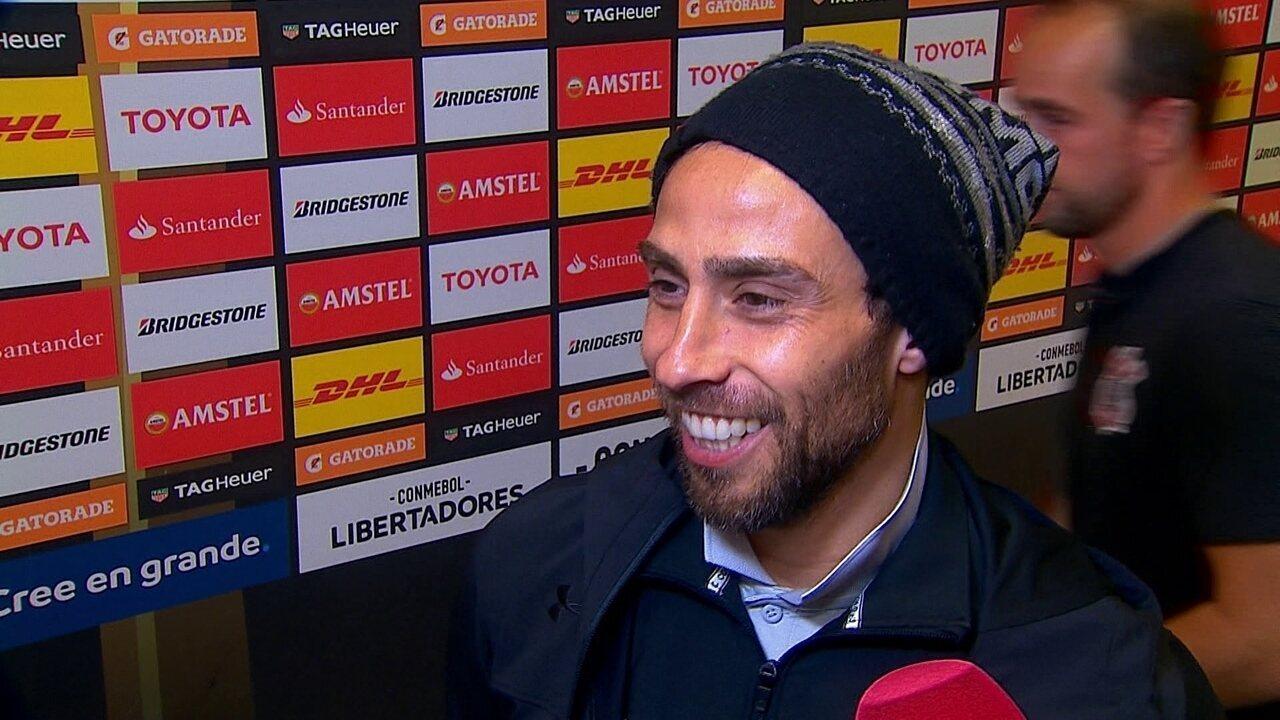Valdívia fala sobre enfrentar o Palmeiras: