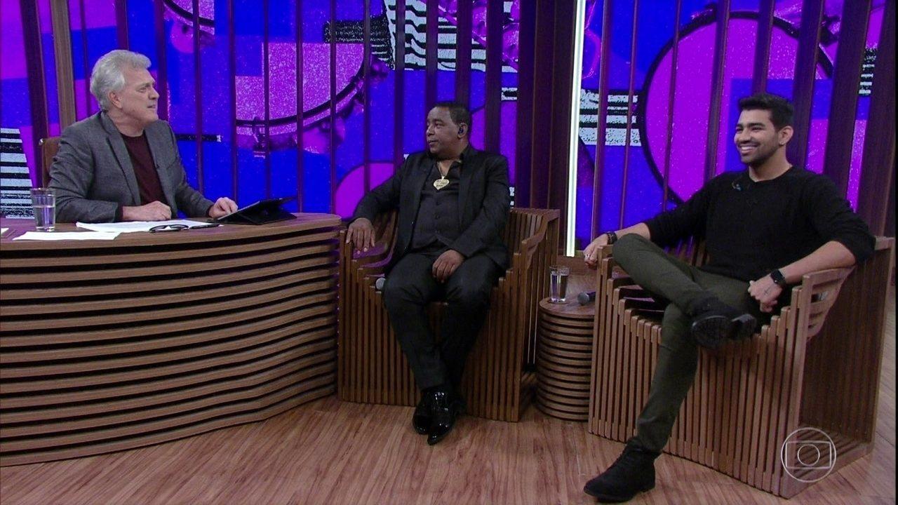 Luiz Carlos e Dilsinho falam sobre suas influências musicais