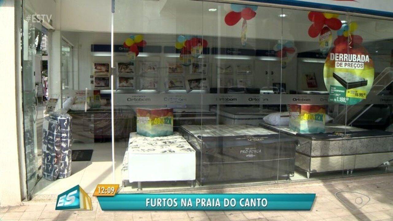 Comerciantes reclamam de alto índice de furtos cometidos na Praia do Canto, no ES