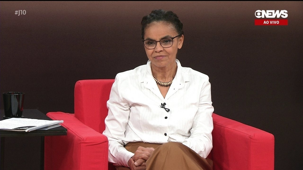 Central das Eleições recebe Marina Silva, candidata da Rede à presidência