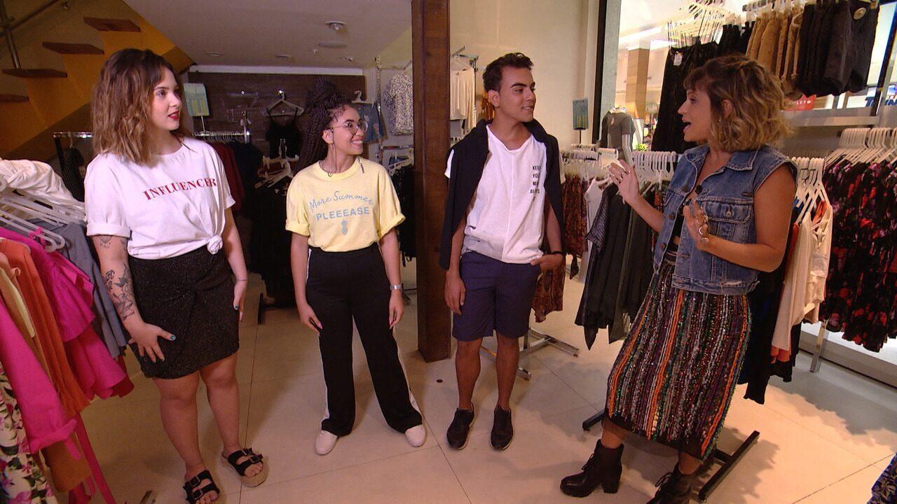 'Expresso' faz desafio fashion com três jovens amantes da moda
