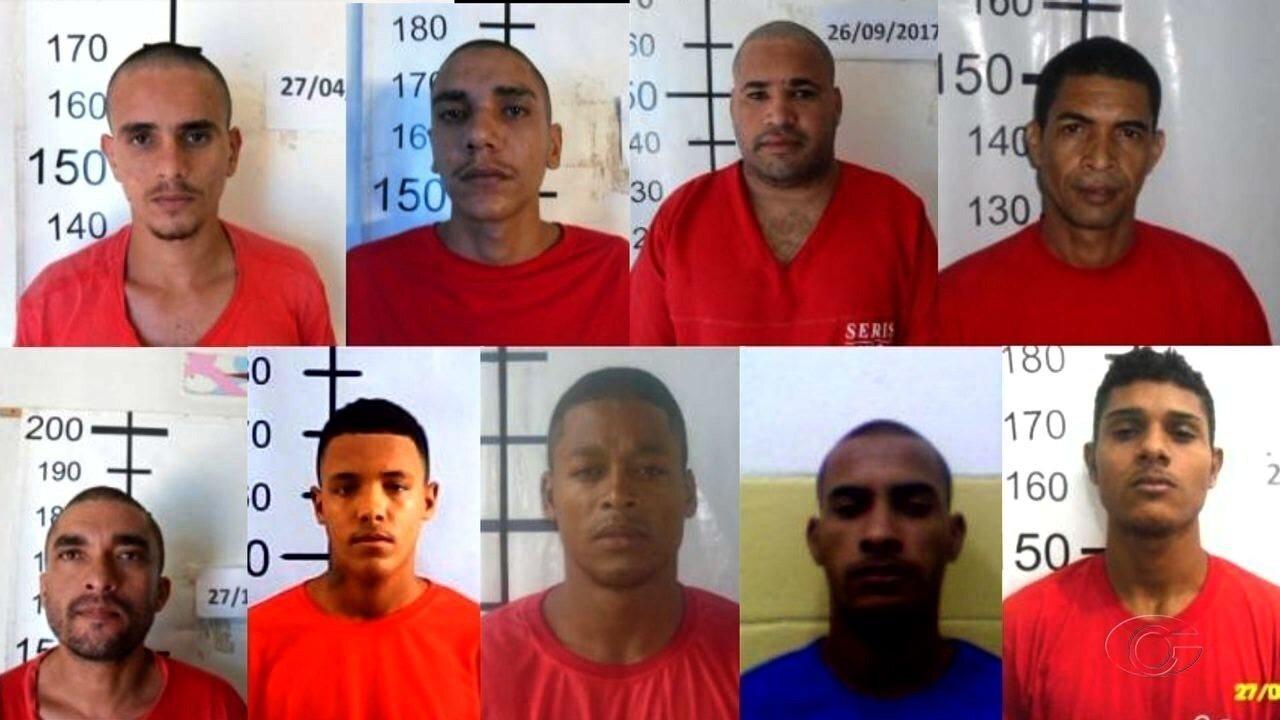 Presos fogem da Penitenciária de Segurança Máxima em Maceió