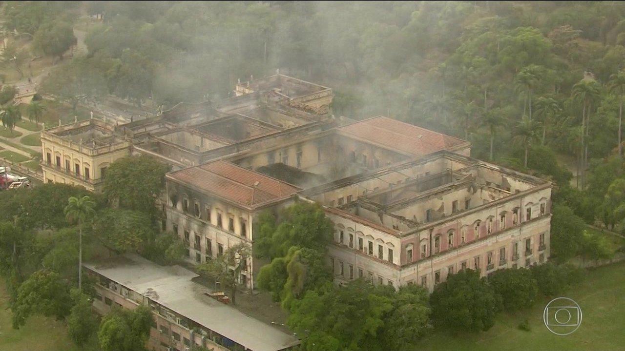 Governo Federal libera R$ 10 milhões para obras emergenciais no Museu Nacional