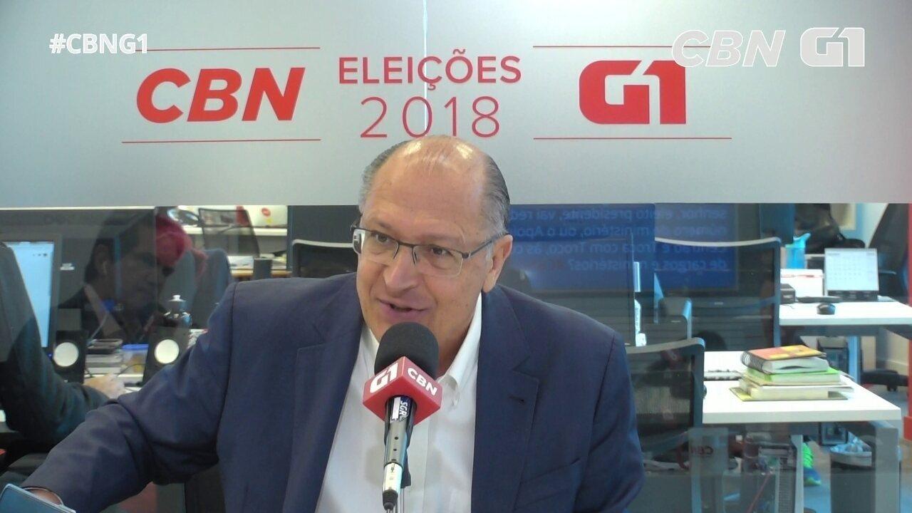 Alckmin fala sobre Museu do Ipiranga, atraso de obras e orçamento
