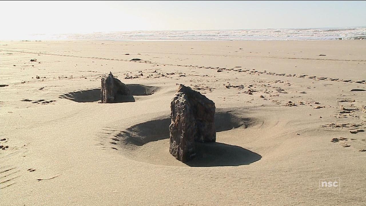 Arqueólogos estudam embarcação que teria naufragado em Jaguaruna