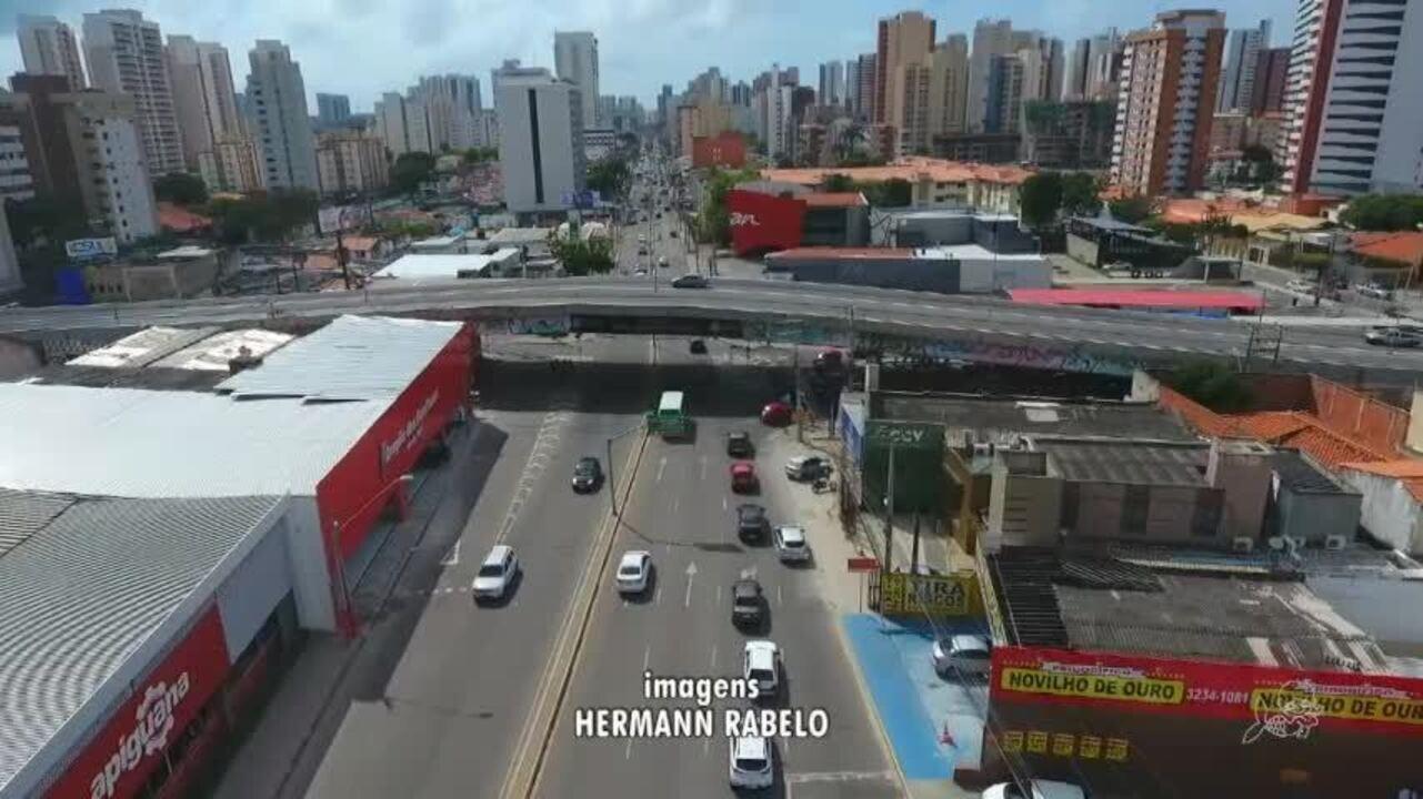 Novo binário altera o trânsito no Bairro Papicu, em Fortaleza