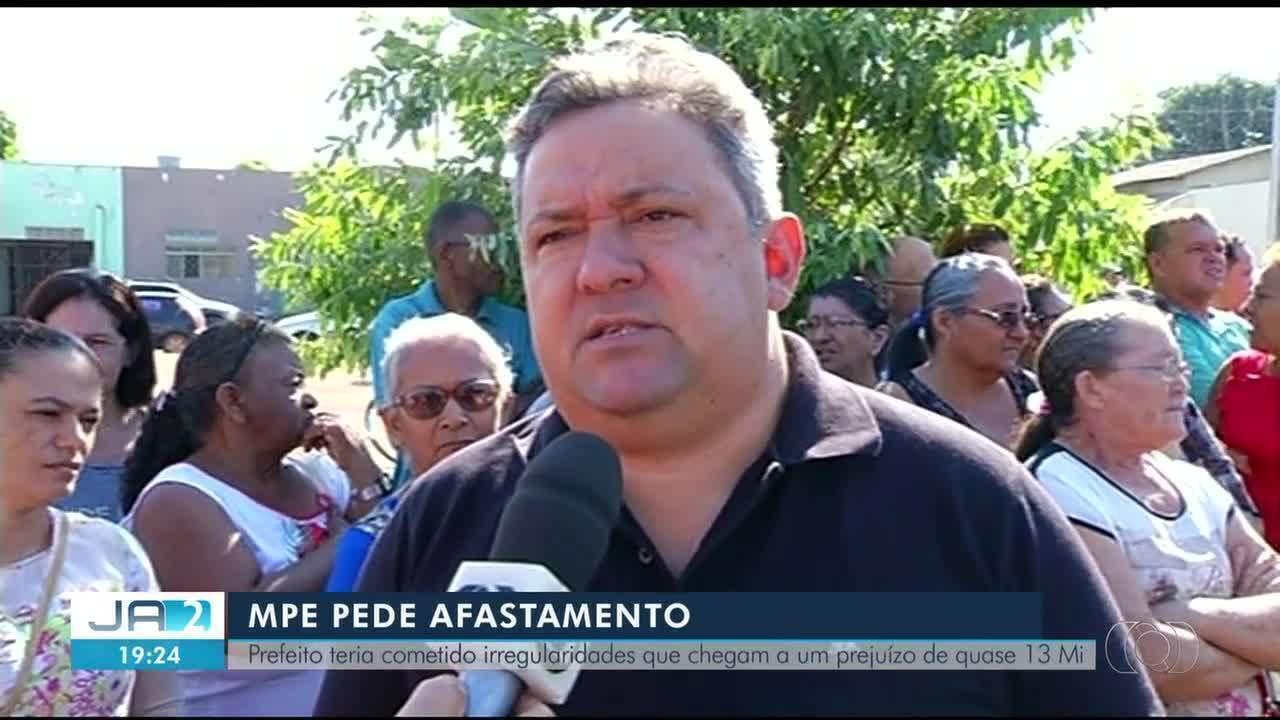MPE pede afastamento do prefeito de Formoso do Araguaia