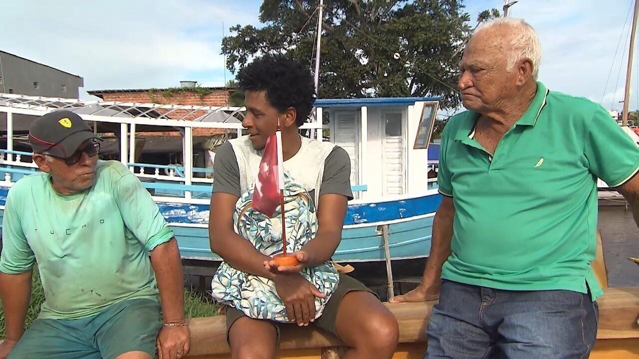 Em Valença, o Vumbora conhece a tradição naval e as culturas do hip-hop e do Bumba meu Boi