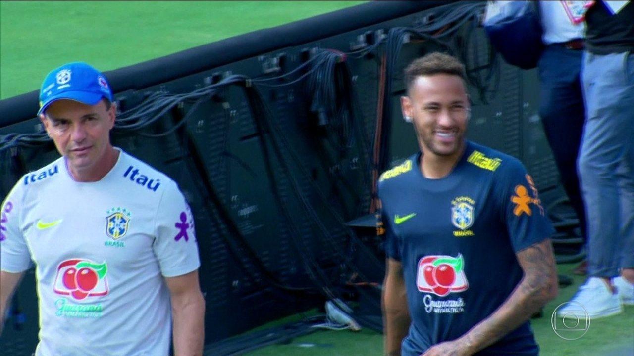 dc1da730db Duplo recomeço  Seleção e Neymar encaram os EUA em busca de uma nova ...
