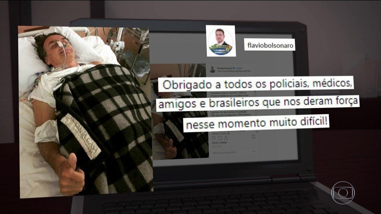Jair Bolsonaro chegou ao hospital em estado grave e cirurgia durou cerca de duas horas