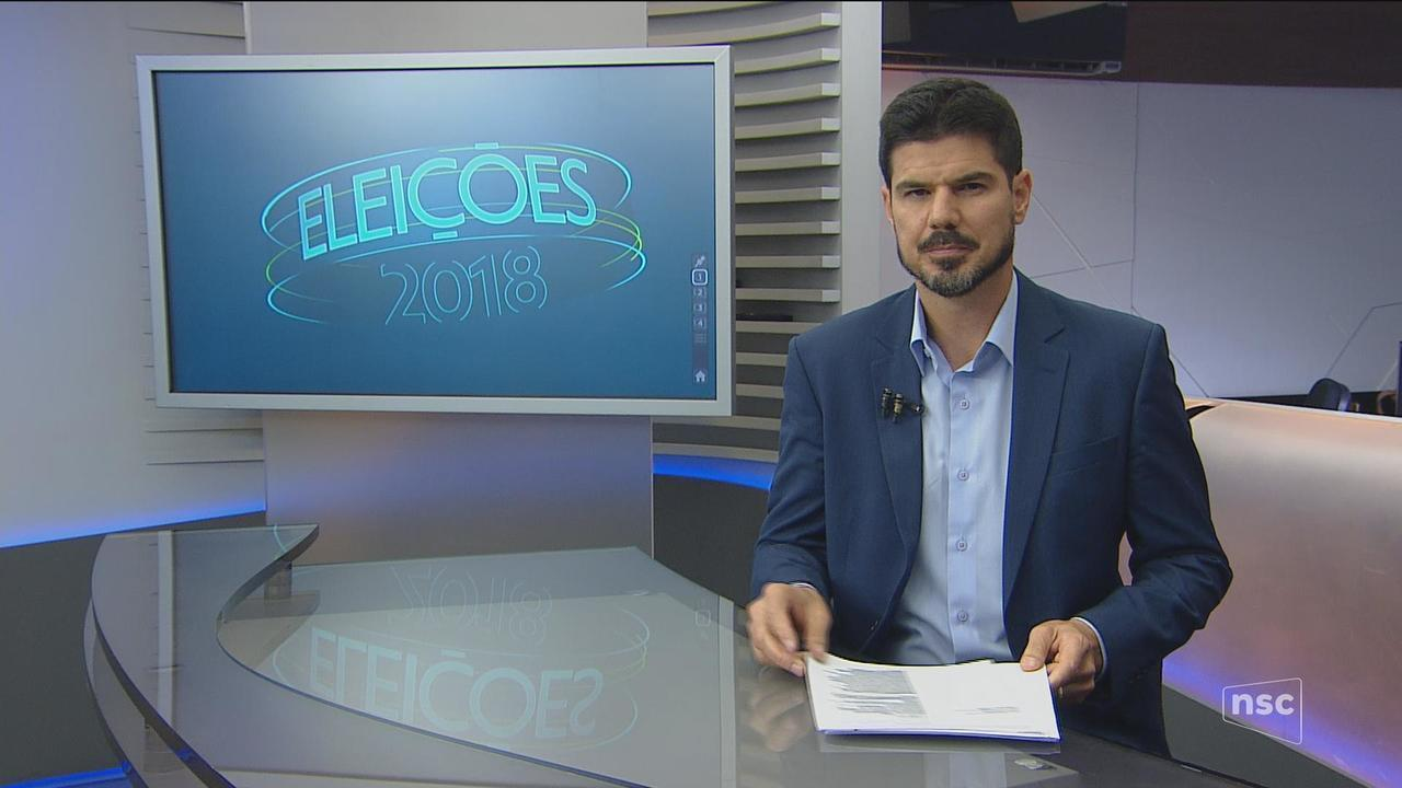 Confira a agenda dos candidatos Décio Lima e Mauro Mariani