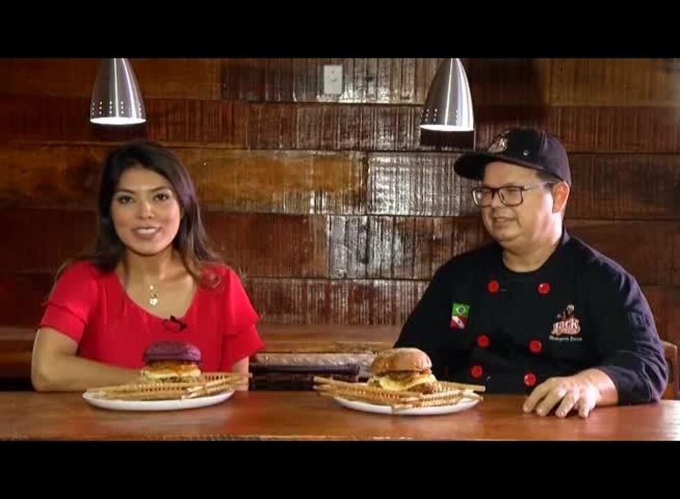 Receita de hambúrguer crustrado na castanha do Pará e tapioca