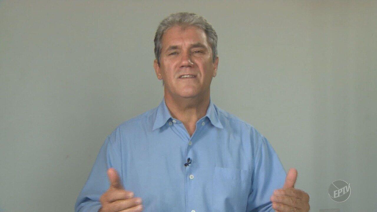 'Eleições 2018': EPTV 1 entrevista Toninho Ferreira (PSTU), candidato ao governo estadual