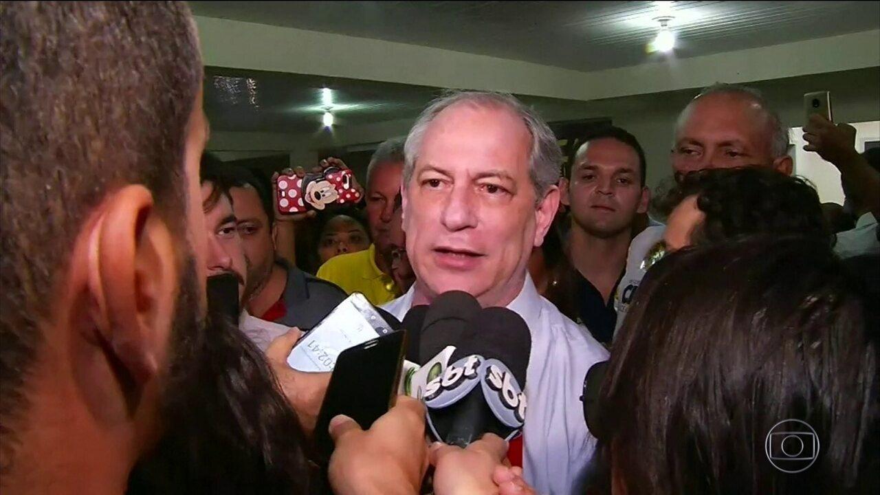 Ciro Gomes faz campanha no interior do Ceará neste sábado (09)