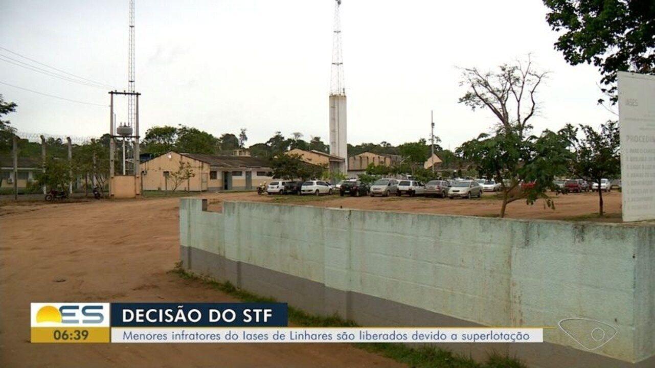Mais menores são liberados do Iases de Linhares, ES
