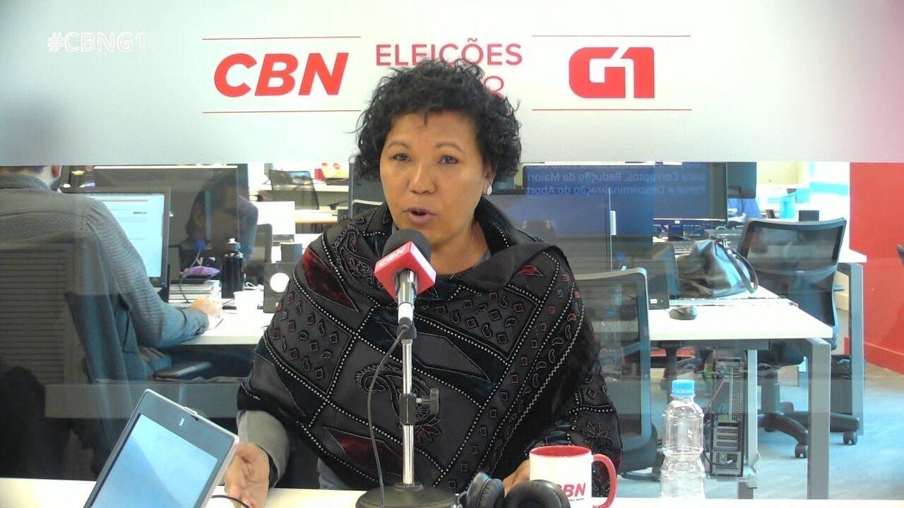 Vera Lúcia responde a perguntas sobre o Monitor da Violência