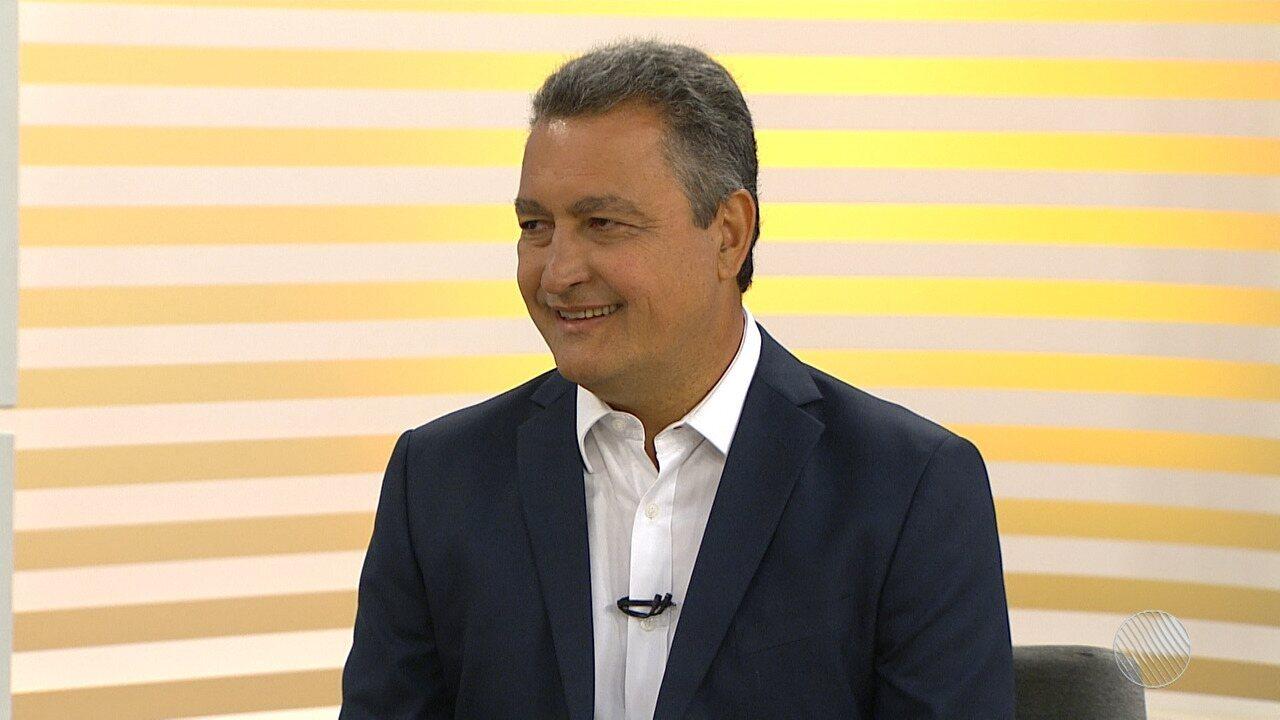 Eleições 2018: Rui Costa (PT) é o entrevistado do Bahia Meio Dia
