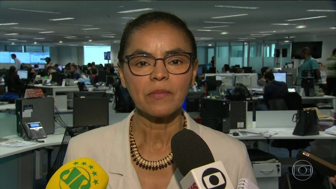 Marina Silva participa de sabatina no Rio de Janeiro nesta terça-feira (11)