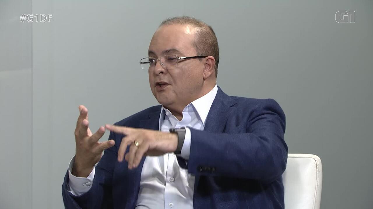 G1 entrevista o candidato ao governo do DF Ibaneis Rocha, do MDB - Bloco 3