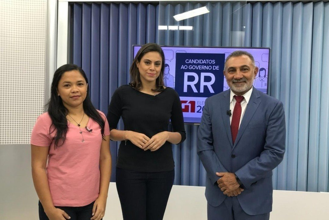 Candidato ao governo de Roraima, Telmário Mota é entrevistado pelo G1 RR