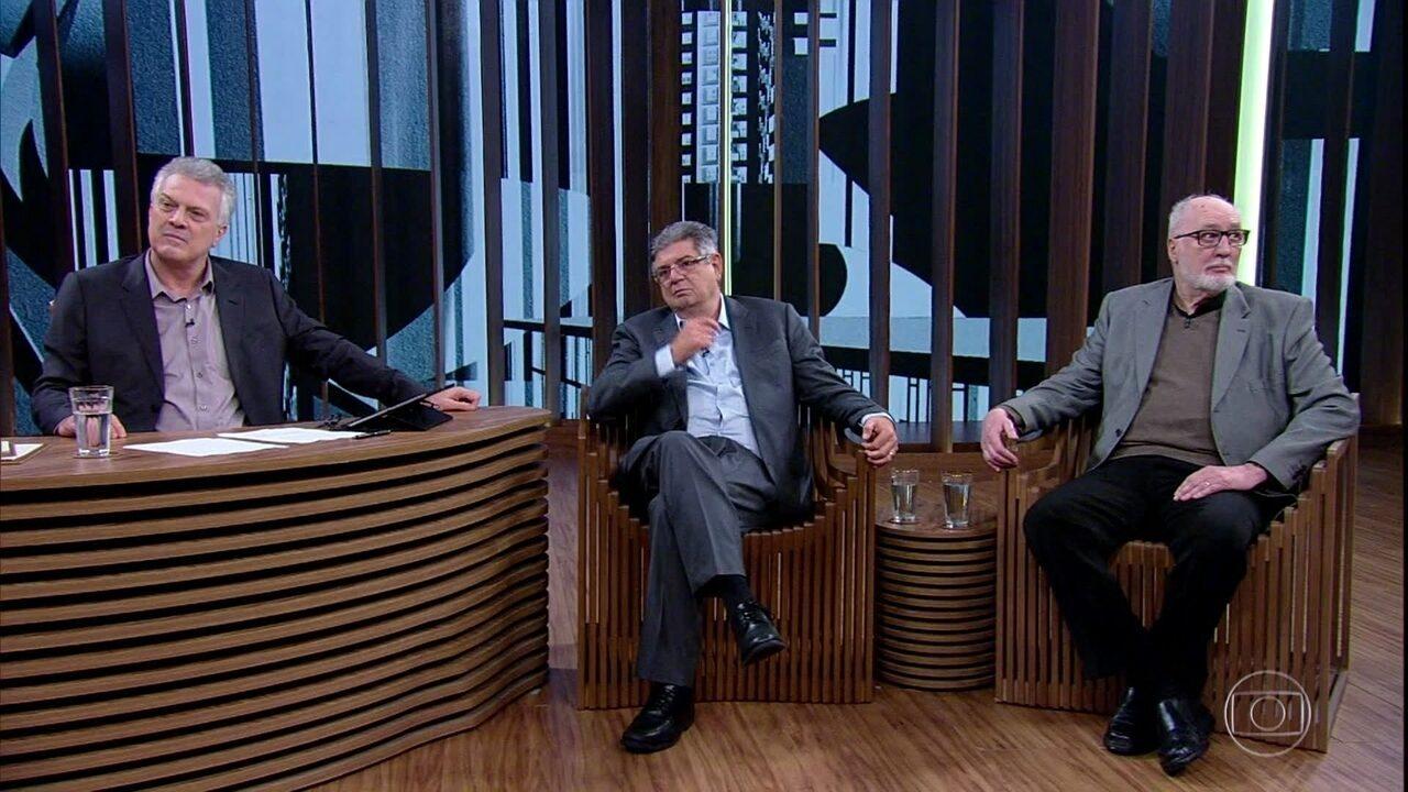 Bial e convidados relembram eleição de Tancredo Neves e clima de festa no