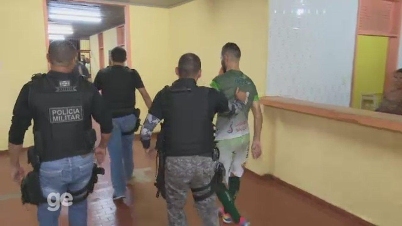 Acreano de Futsal da 2ª divisão termina com agressão a árbitro e jogador preso