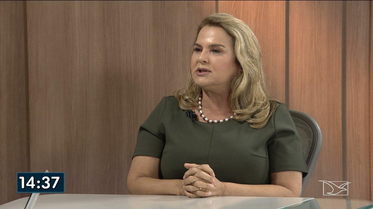 Maura Jorge é entrevistada no JMTV1