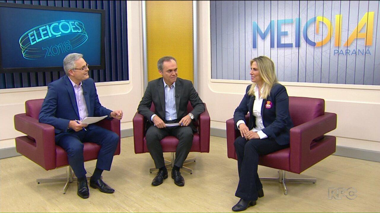 Veja a entrevista com Cida Borgheti, do (PP), candidata ao Governo