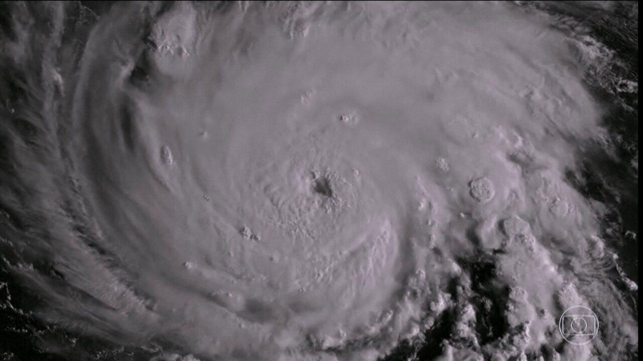 25 milhões de pessoas estão na rota do furacão Florence, nos Estados Unidos