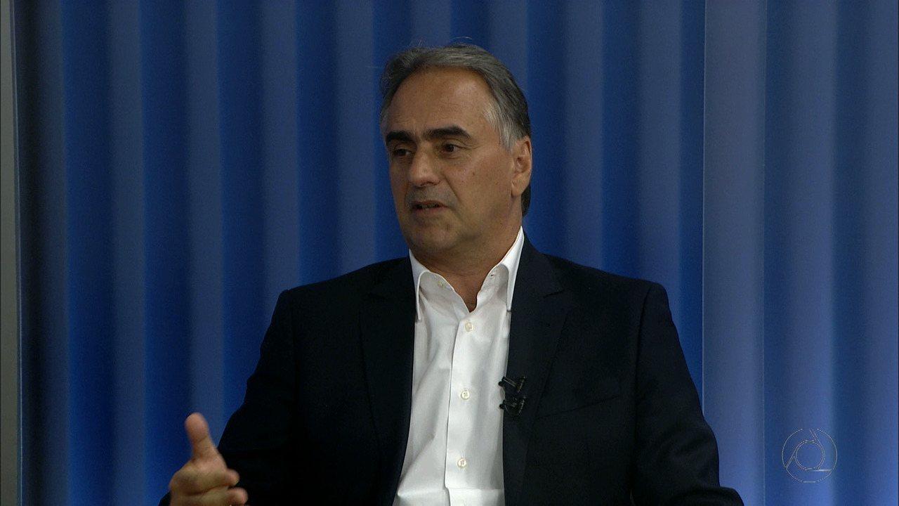 Candidato ao governo da Paraíba Lucélio Cartaxo (PV) é entrevistado no JPB 1ª Edição